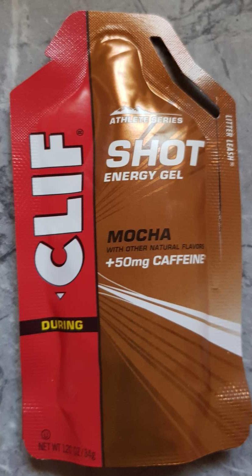 Shot Energy Gel Mocha - Product