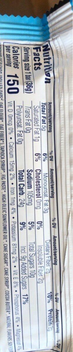 Zbar - Informations nutritionnelles - en