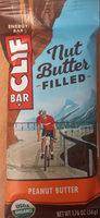 Organic nut butter filled peanut butter energy bar - Product - en