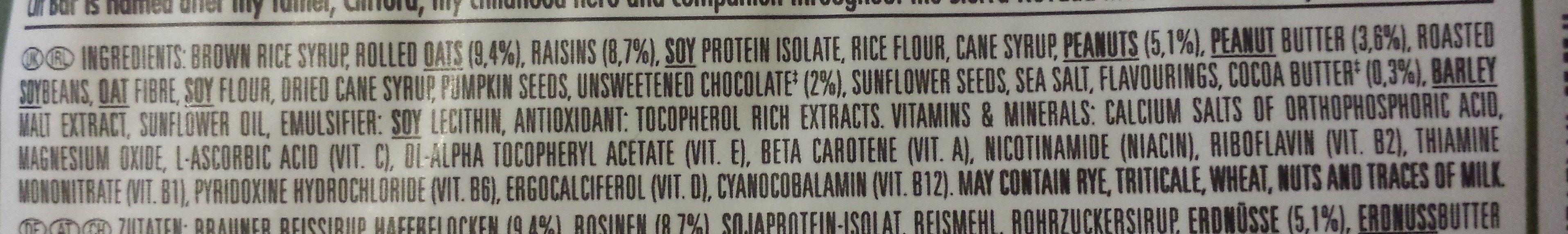 Alpine Muesli Mix - Ingrediënten