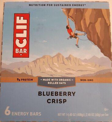 Blueberry crisp energy bars, blueberry crisp - Product - en