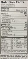 CLIF Bar - Nutrition facts