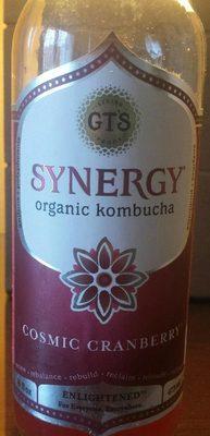 Synergy Organic Kombucha Cosmic Cranberry - Product