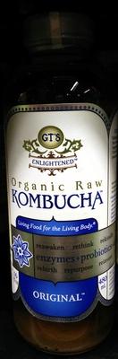 Organic Raw Kombucha Original - Product