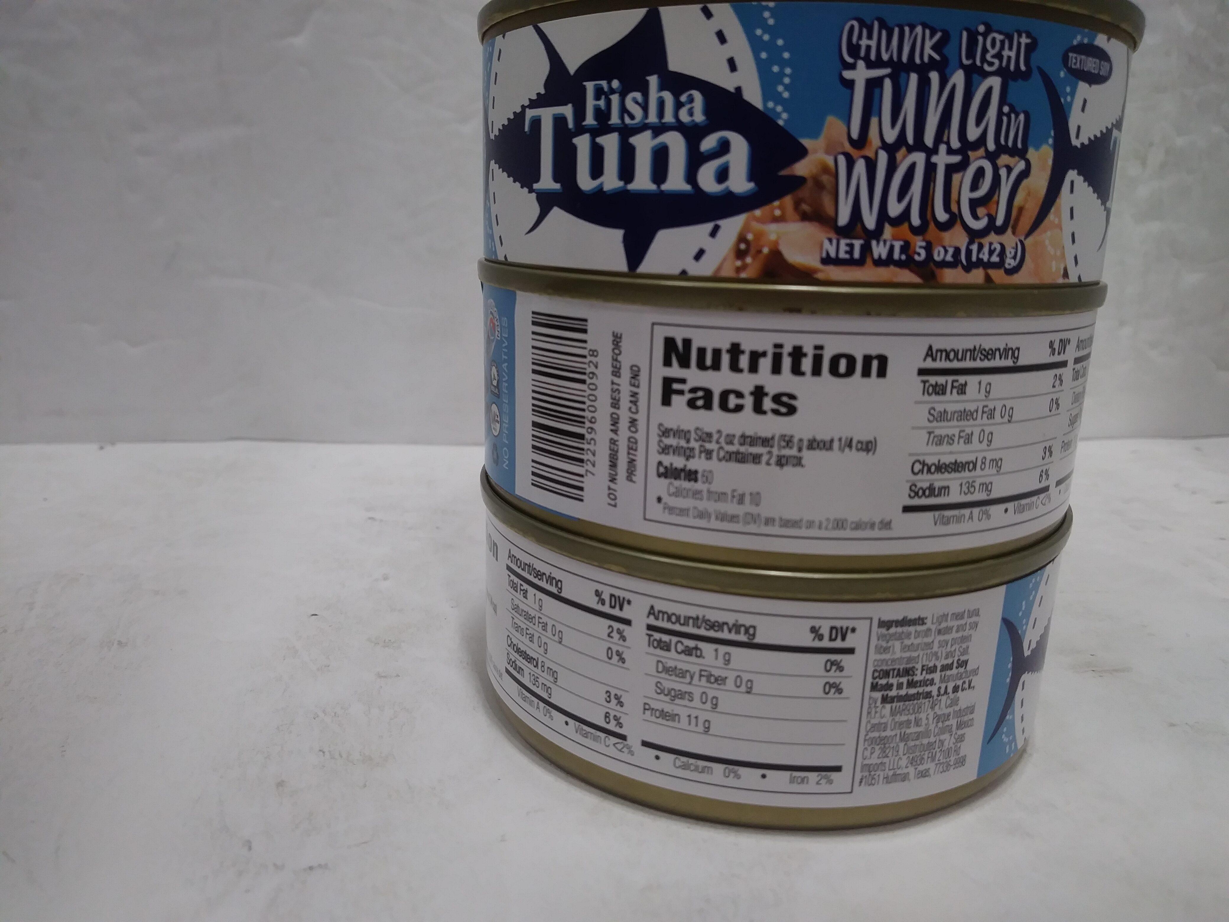Chunk Light Tuna Fish in Water - Producto - en