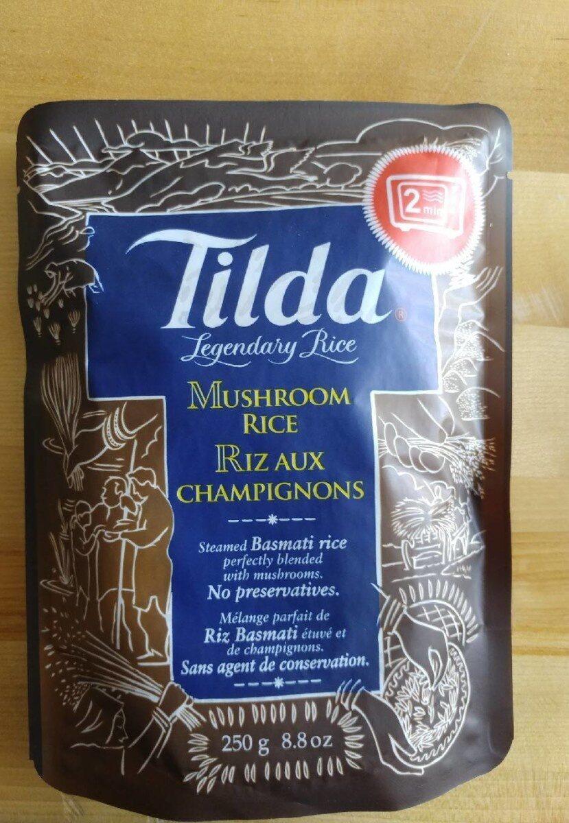 Tila mushroom rice - Product - fr