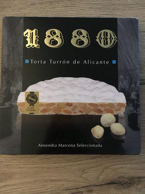 Alicante Torta Turron - Produit - fr