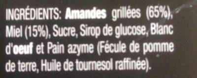 "Torta Turron De Alicante ""Edicion Premium"" - Ingrédients - fr"