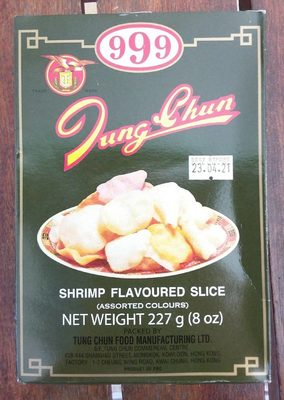 Shrimp Flavoured Slice - Produit