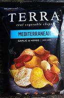 Terra Mediterranean vegetable chips - Product