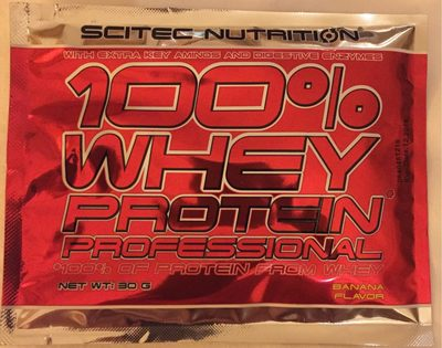 100% Whey Protein Professional - 30 g - Banane ? - Product - fr