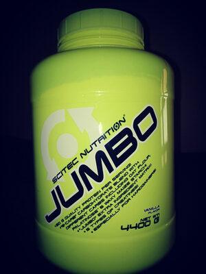 Sctec Nutrition Jumbo 4400 Gr Vanilla - Nutrition facts - fr