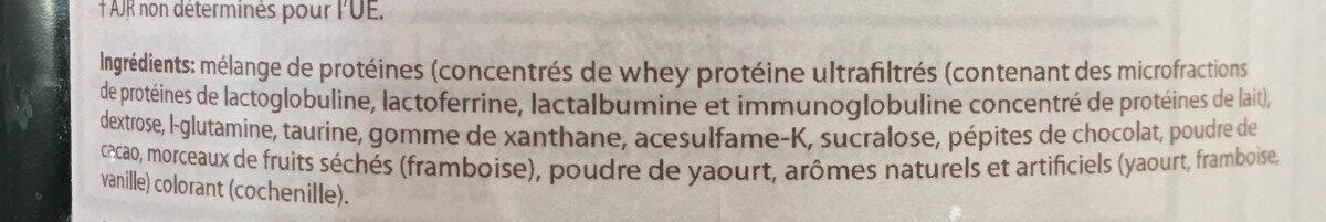 Protein delite raspberry yogurt flavor - Ingrédients