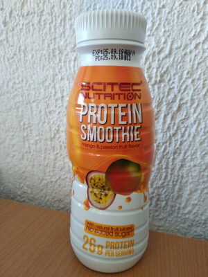Protein Smoothie Mango & Passion Fruit Flavor - Product