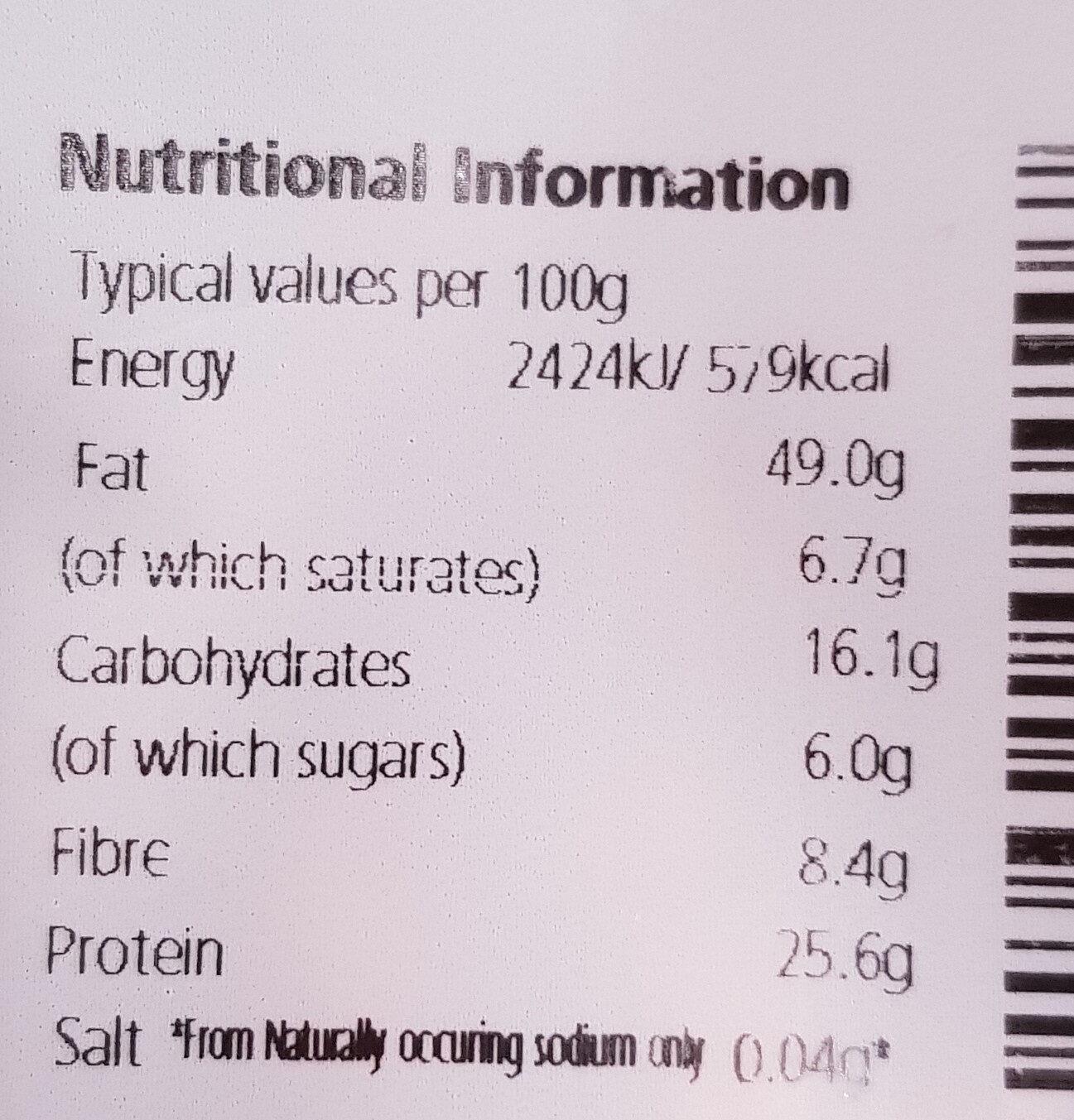 - Výživové údaje - en