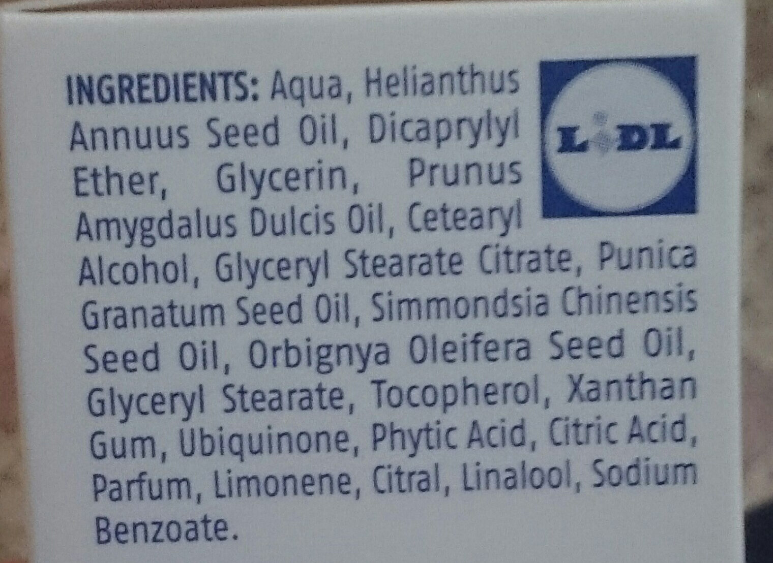 9 - Ingredients