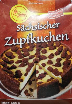Sächsischer Zupfkuchen - Produkt