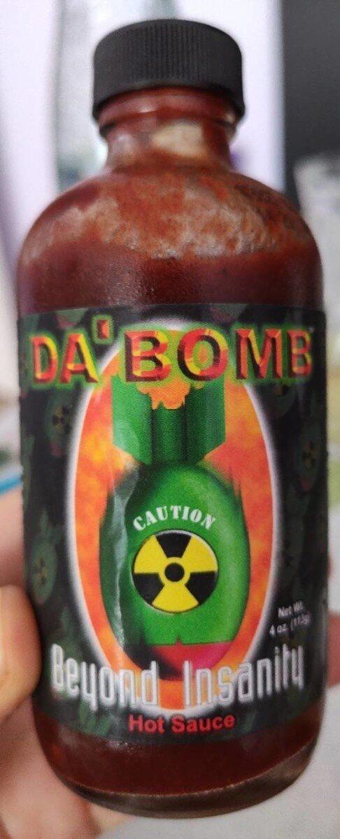 Dabomb beyond insanity hot sauce - Product - en