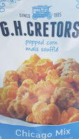 G. H. Cretors All Natural Chicago Mix Popped Corn - Product - fr