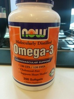 Now Omega-3 Fish Oil Concentrate - Product