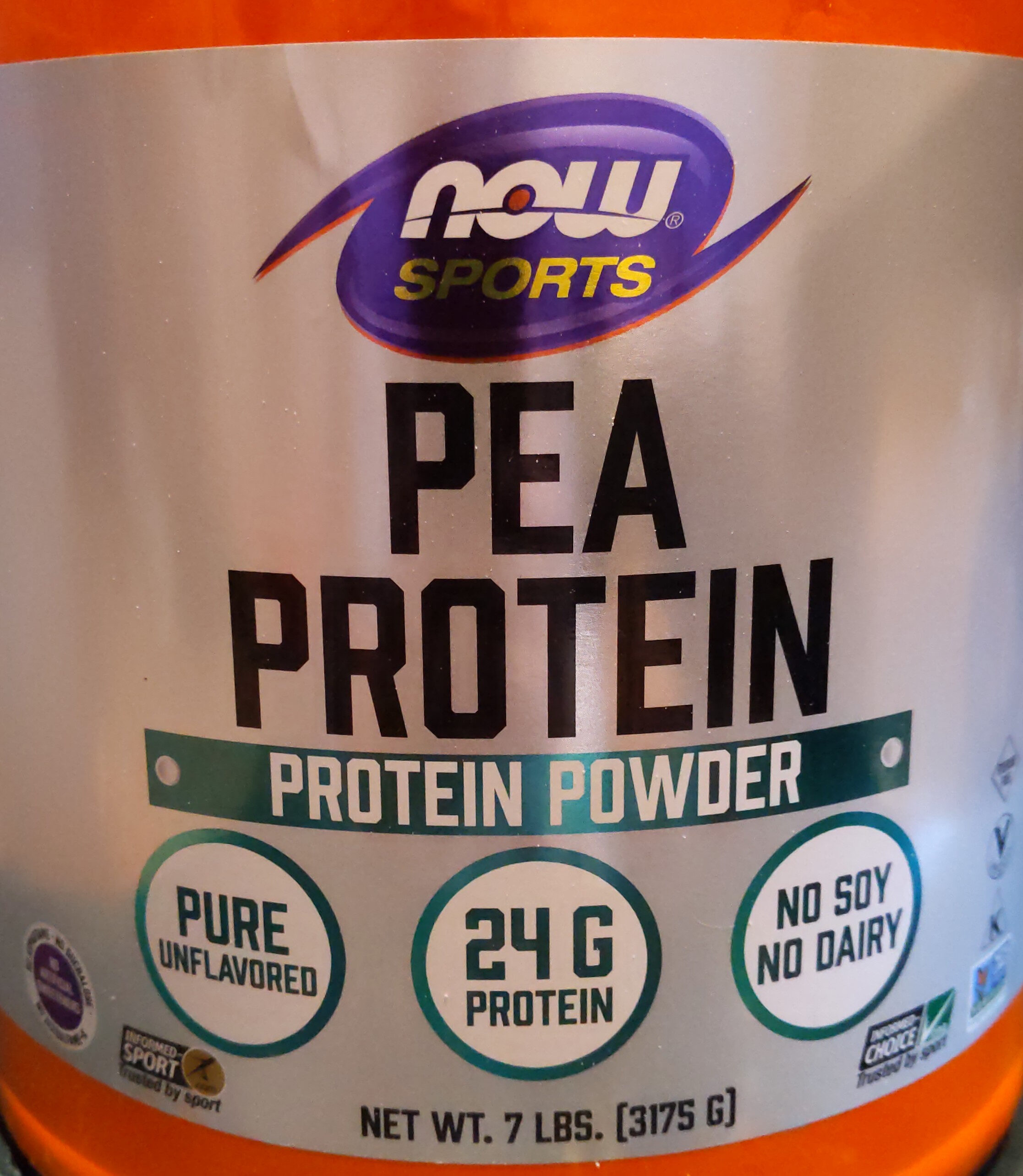 Pea Protein, Pure Unflavored Powder - Product - en