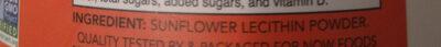 Sunflower lecithin pure powder - Ingredienti - en