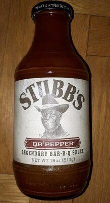 Legendary bar-b-q sauce, legendary bar-b-q - Produit