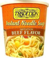 Traditional beef flavor - Produit - en