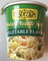 Instant Noodles Soup - Vegetable Flavor - Produit