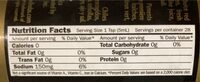 Xxxx reserve original habanero pepper hot sauce - Nutrition facts - en