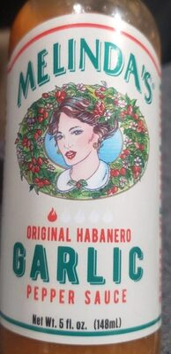 Original Habanero Garlic Pepper Sauce - Product
