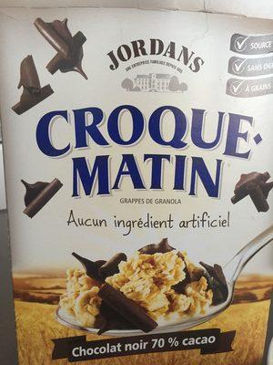 Céréales Croque-matin chocolat - Product - en