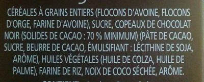 Céréales Croque-matin chocolat - Ingrediënten - en