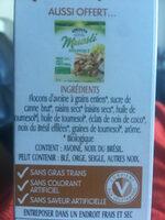 Morning crisp - Ingredients - fr