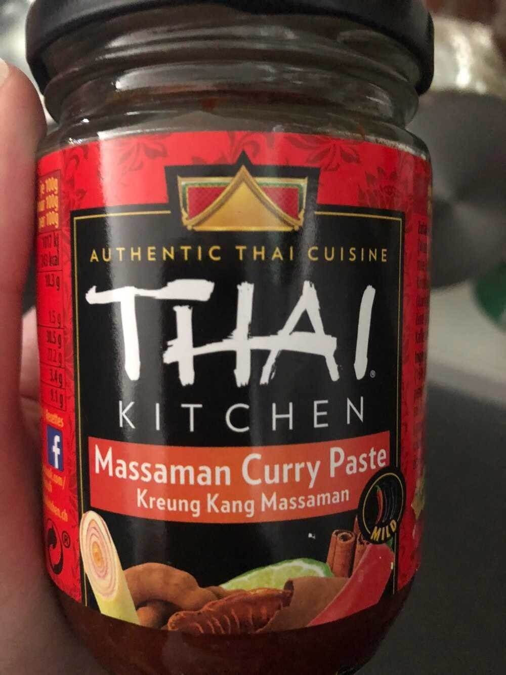Green curry paste - Product - en