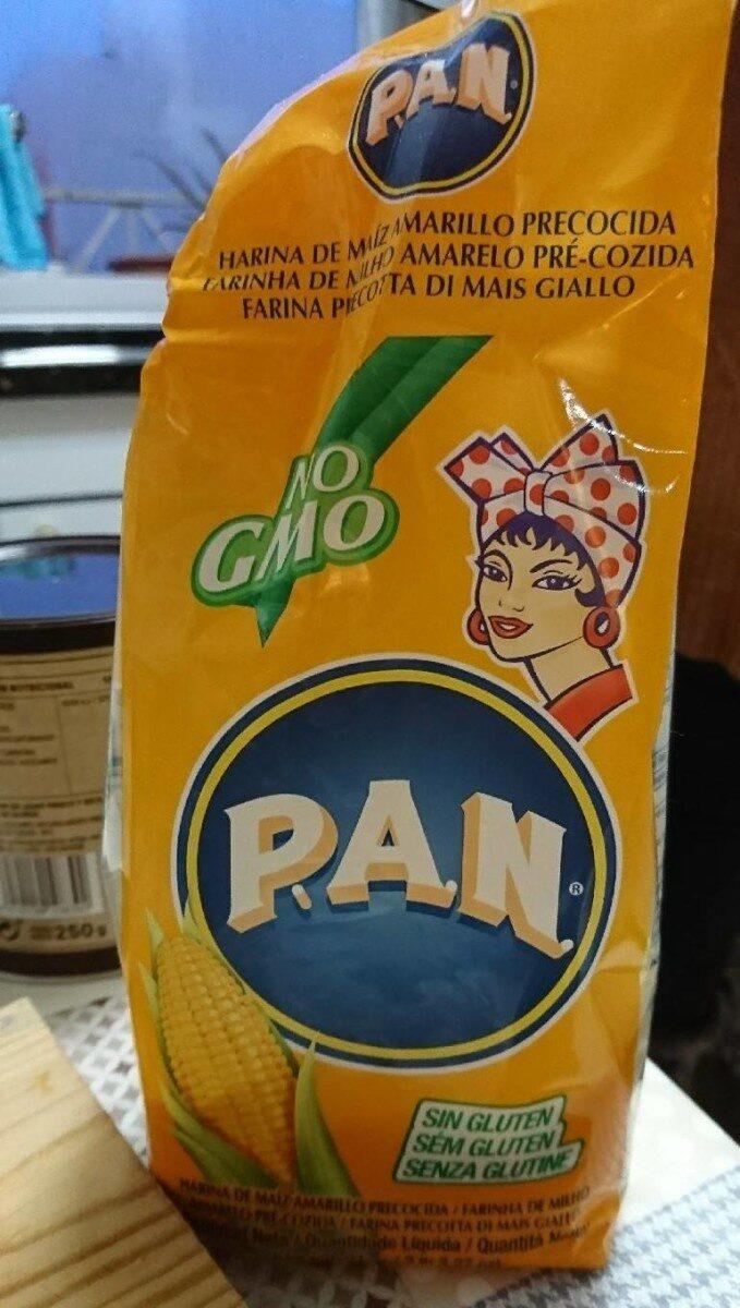 Harina de maíz Amarillo precocida - Producto - es