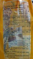 Harina de maíz Amarillo precocida - Información nutricional - es