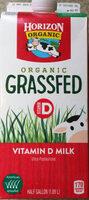 Organic Grassfed Vitamin D milk - Product