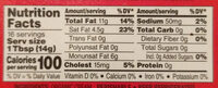 Salted organic spreadable butter with sunflower oil & sea salt - Nutrition facts - en