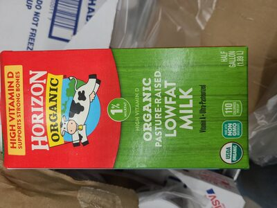 1% Organic Lowfat Milk - Product - en