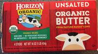 Organic butter - Product - en