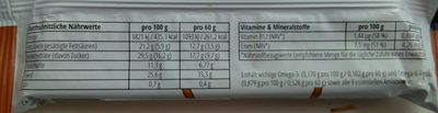 Instinct Insektensnack Salzige Schokolade - Voedingswaarden