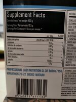 Multicell pro - Nutrition facts - es