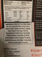 Snickerdoodle cookie - Ingredients