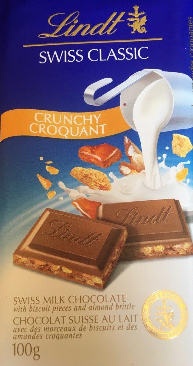 Chocolat au lait croquant - Product - fr
