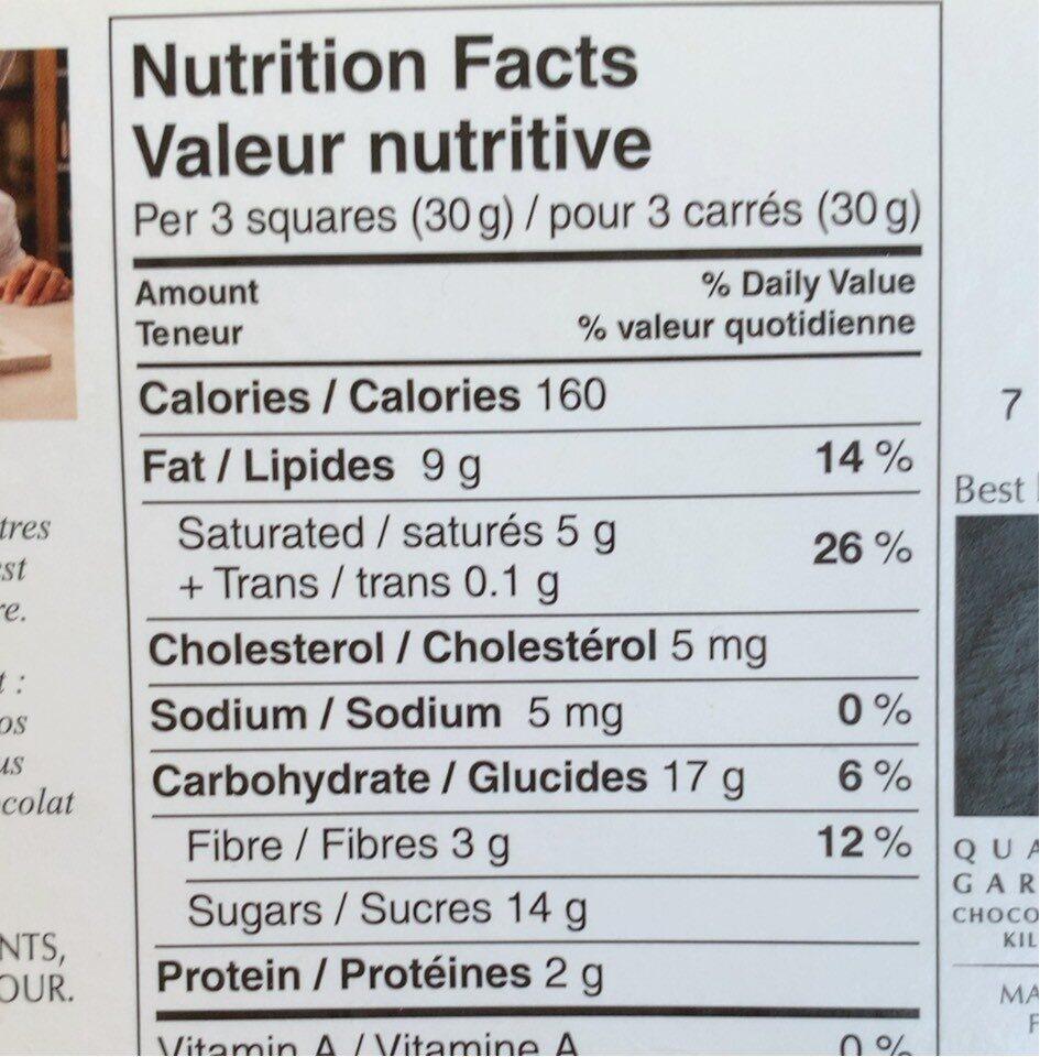 Excellence zeste de citron vert - Nutrition facts - fr