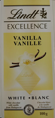 Lindt Excellence Vanilla - Product - en