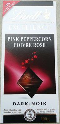 Chocolat noir Excellence poivre rose - Produit - fr