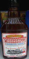 Sweet 'n Spicy Mississippi Barbecue Sauce - Product