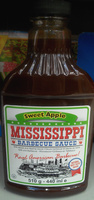Sweet Apple Mississippi Barbecue Sauce - Product